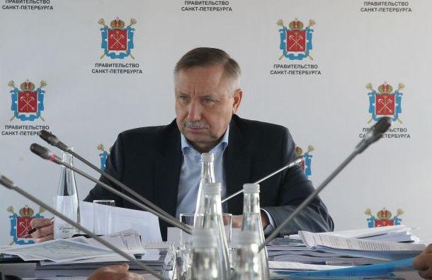 Беглов пойдет нагубернаторские выборы самовыдвиженцем