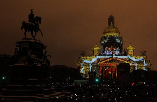 Фестиваль света вПетербурге решили неприостанавливать
