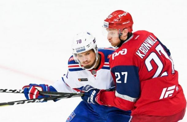 СКА уступил вовертайме «Локомотиву»