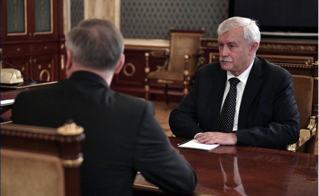 Полтавченко и Путин, отставка 3 октября 2018 года, фото: kremlin.ru 1