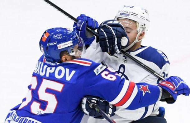 СКА победил «Динамо» сосчетом 3:2