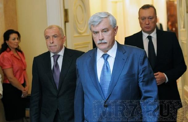 Полтавченко оработе вПетербурге: «Ястарался»