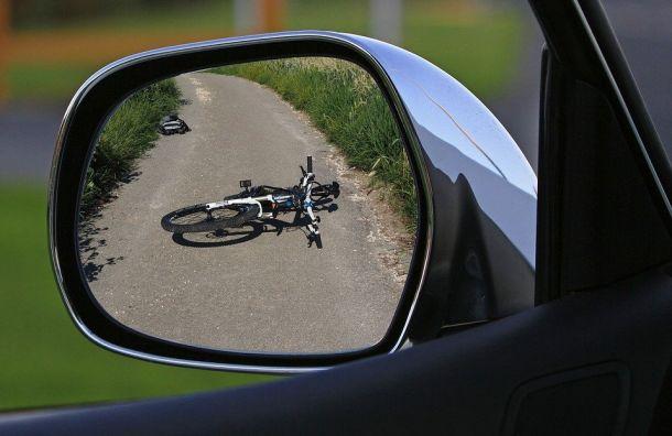 Volkswagen сбил подростка свелосипедом наСиверском шоссе