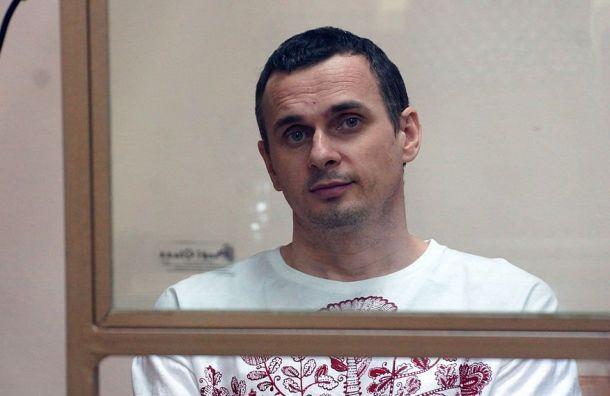 Сенцов прекратил голодовку
