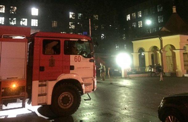 Здание института онкологии горело вПесочном