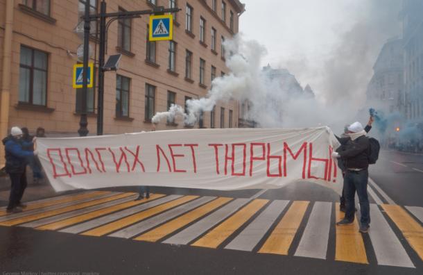 Суд арестовал на5 суток активистку за«поздравление» Путина