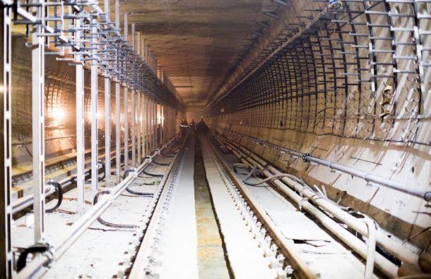 Настроительство метро вПетербурге в2019 году выделят 28 млрд рублей