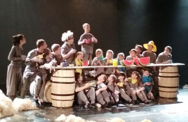 Премьера спектакля «Сны Пиросмани» состоялась вУпсала-Цирке