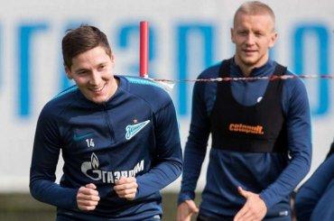 Черчесов вызвал всборную России семь игроков «Зенита»