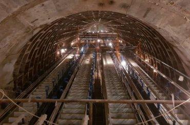 «Метрострой» показал эскалаторы «Проспекта Славы»