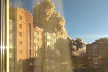 «Что-то взорвалось»: вГатчине произошел взрыв