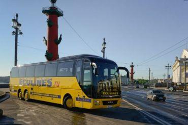 Новый автобусный рейс свяжет Петербург иПетрозаводск