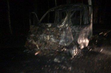 Водителя вытащили изгорящей «Газели» после ДТП наПесочной
