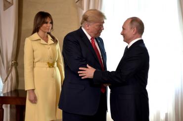 Трамп считает себя жестким поотношению кПутину