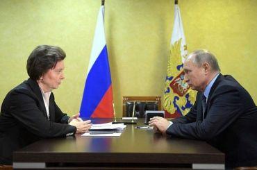 Грядет отставка: губернатор Югры села вкресло Путина наличной встрече