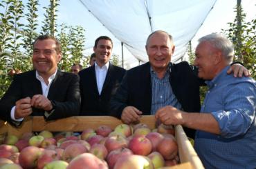 Путину подарили «чемпионов без мельдония»