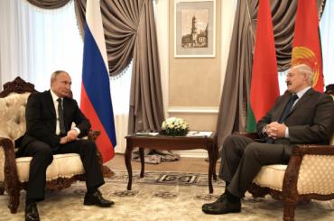 Лукашенко дал Путину блинов идраников