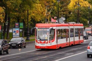 Четыре трамвая изменят маршруты навыходные
