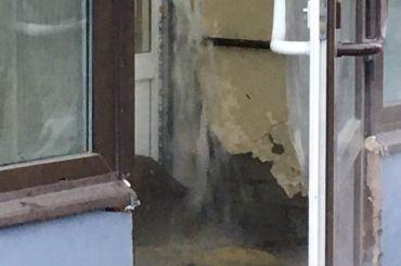 Трубу сгорячей водой прорвало около «Московской»