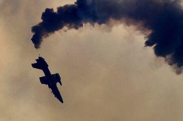 Учебный самолет разбился вКраснодарском крае