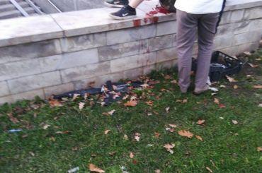 Подросток упал наштык забора около «Черной речки»