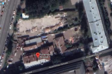 Застройщик шесть лет пытался построить вПетроградском районе гостиницу
