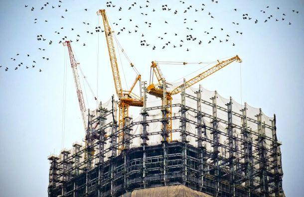 За2018 год вПетербурге выдали разрешение настроительство 5,6 млн кв. метров жилья