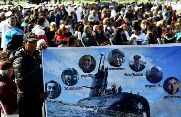 Найдена пропавшая год назад аргентинская подлодка
