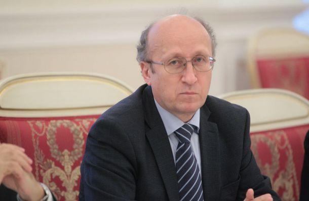 Отставку вице-губернатора отложили из-за бюджета Петербурга