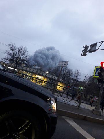 Пожар в  9