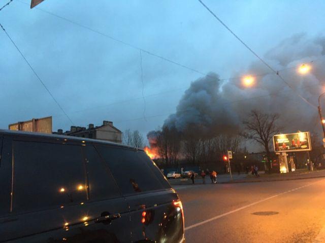 Пожар в  3