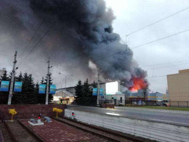 Пожар в  11