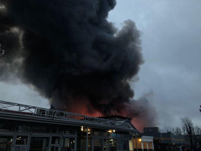 Пожар в  6