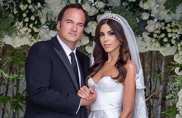 Тарантино впервые женился