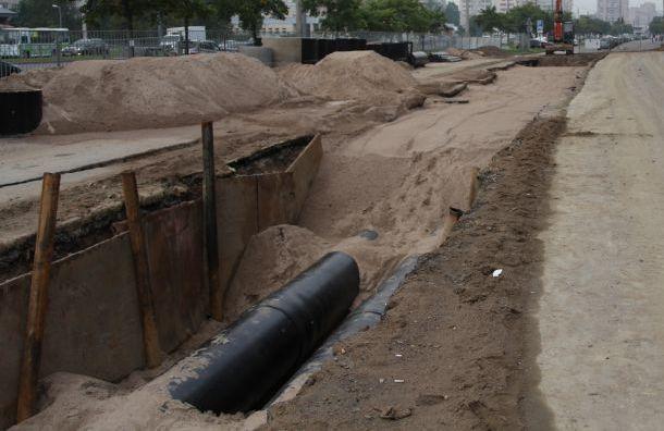 Батареи домов вКировском районе остыли из-за прорыва трубы
