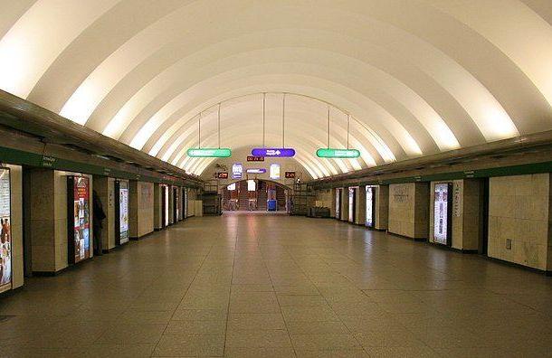 Две станции петербургского метро утром закрывали напроверку