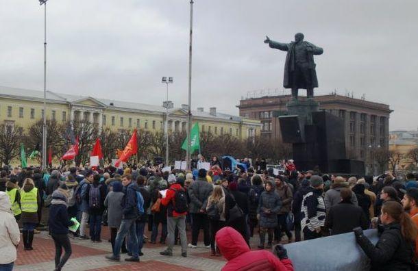 Активисты выйдут наплощадь Ленина 7ноября