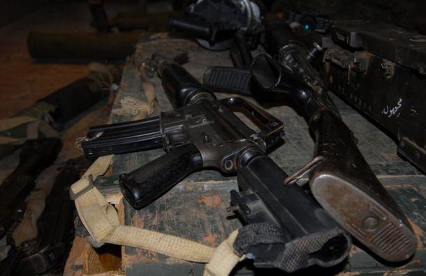 Изъятое у террористов в Сирии оружие покажут в музее артиллерии