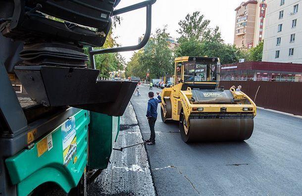 Ремонт 132км дорог обойдется Смольному в5 млрд рублей