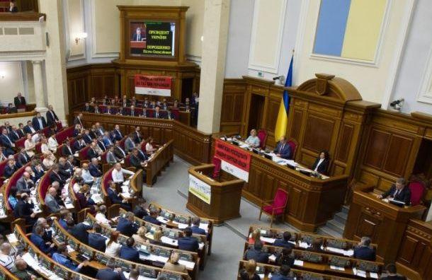Военное положение наУкраине ввели вотдельных областях страны