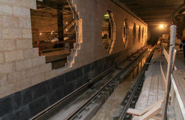 «Метрострой» обвинил Смольный вслабой работе из-за отсутствия нового метро