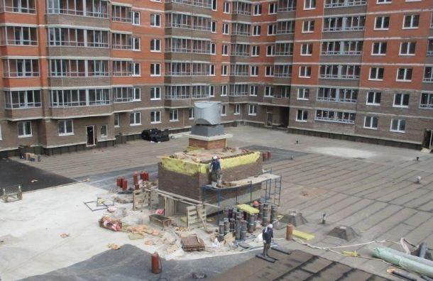 ДольщикиЖК «Ижора Парк» заселились внедостроенные квартиры