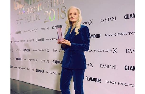 Моделью года поверсии Glamour стала 63-летняя петербурженка