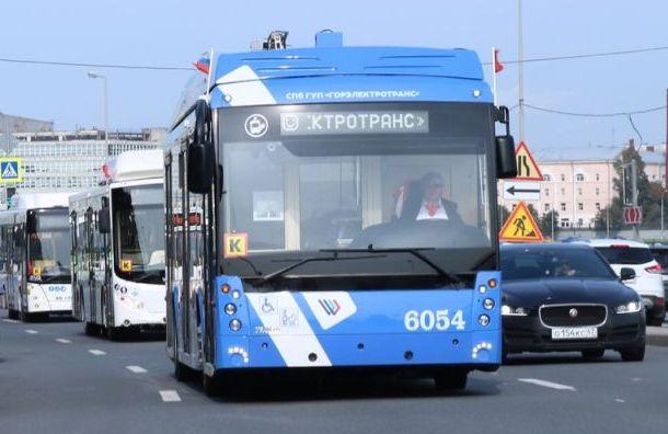Маршрут троллейбуса №13 укоротят наодин день