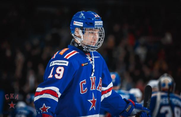 Самым молодым дебютантом КХЛ стал игрок СКА