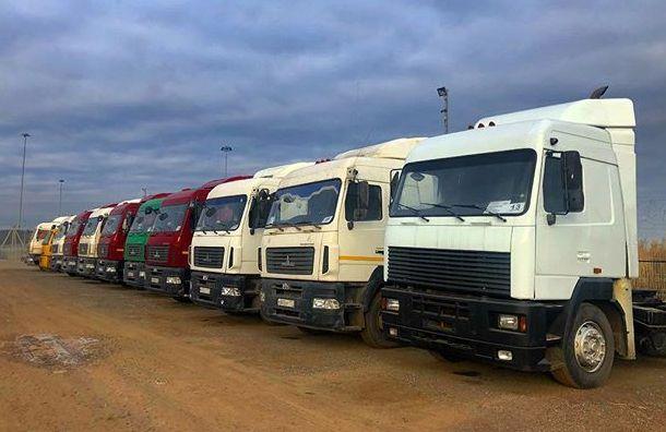 Петербург вошел вчисло лидеров порегистрации грузовиков в«Платоне»