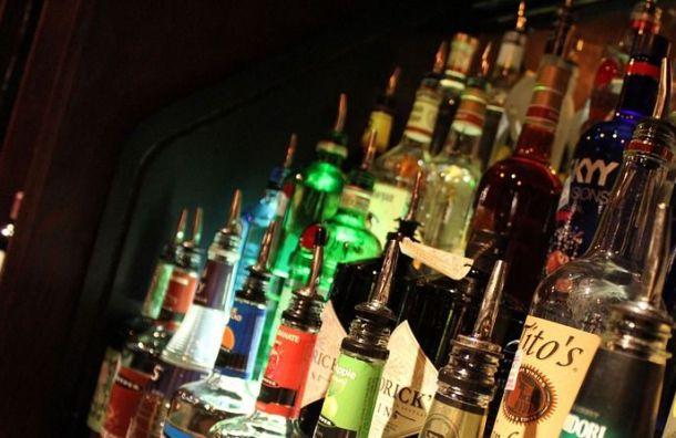 Возле кладбища вПетербурге нашли склад споддельным алкоголем