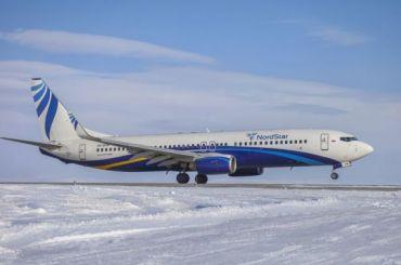 Boeing авиакомпании NordStar совершил экстренную посадку вНорильске