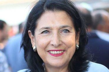Впервые вистории президентом Грузии стала женщина