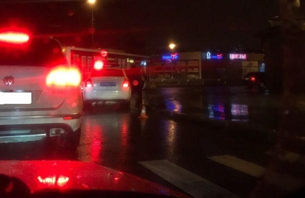 Автомобилист сбил пешехода у ж/д станции Удельная